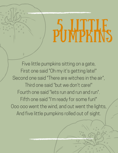 5 little pumpkins